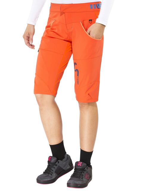 Cube AM Naiset pyöräilyhousut , oranssi